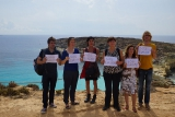 Besuch in Lampedusa Anfang Oktober 2014