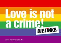 Homophobie is not a crime
