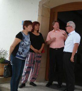 2016-07-29_Besuch_GAIA_CorneliaErnst_KatrinWerner_TorstenSzielasko_MichaelWahl